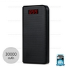 Power Bank 30000 mAh LCD (Black) - แบตสำรอง PRODA