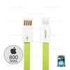 Cable IP (AL03-800mm)Green - สายชาร์จ Pisen
