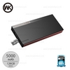 Power Bank  5000mAh  (WP-017 Kpower) Black - แบตสำรอง WK