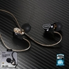 Small Talk RM-580 (Black) Double Moving - Coil Earphone - หูฟัง REMAX