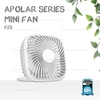 Fan Apolar F23 White- REMAX