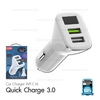 Car Charger Quick Charge 3.0 (White, WP-C16 ) - ที่ชาร์จในรถ WK
