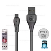 Cable Type C 1M (Black, WDC-072) Full Speed - สายชาร์จ WK