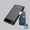 Power Bank 10000mAh (RPP-120,Gray) - แบตสำรอง REMAX