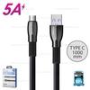 Cable 1M Type C 5A WDC-110(Black) Sensh