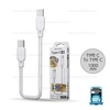 Cable Type C to Type C(White, WDC-106) 3A
